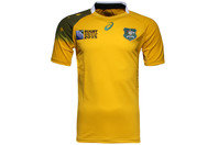 Australia Wallabies RWC 2015 Home S/S Replica Rugby Shirt