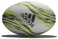 Torpedo X-Ebition Rugby Ball White/Solar Yellow