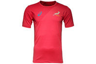South Africa Springboks 2015/16 S/S Rugby T-Shirt True Red