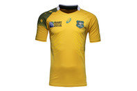 Australia Wallabies RWC 2015 Home Test S/S Rugby Shirt