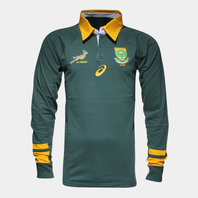 Asics South Africa Springboks 2015/16 L/S Supporters Rugby Shirt