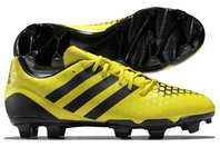 adidas Incurza TRX FG Rugby Boots Bright Yellow/Core Black/Night Metallic