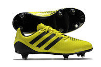 adidas Incurza XTRX SG Kids Rugby Boots Bright Yellow/Core Black/Night Metallic