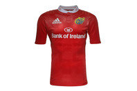 adidas Munster 2015/16 Home S/S Replica Rugby Shirt