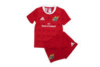 adidas Munster 2015/16 Home Kids Rugby Kit