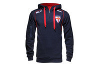 England Rugby League 2015 1/4 Zip Hooded Rugby Sweat