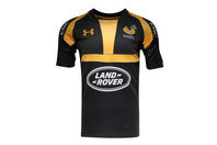 Wasps 2015/16 Home Players Replica Rugby Shirt