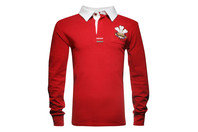World Beach Rugby Wales Kids Vintage Rugby Shirt