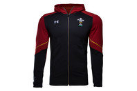 Under Armour Wales WRU 2016/17 ColdGear Infrared Lightweight Hooded Rugby Jacket