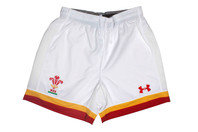 Under Armour Wales WRU 2016/17 Home Kids Rugby Shorts