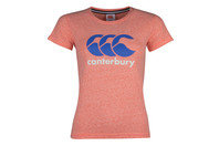 Canterbury CCC Logo Ladies Rugby T-Shirt