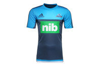 adidas Blues 2017 Super Rugby Rugby Performance T-Shirt