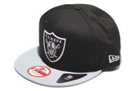 New Era NFL Oakland Raiders Cotton Block 9Fifty Snapback Cap