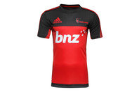 adidas Crusaders 2017 Players Super Rugby Performance T-Shirt