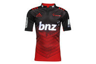 Crusaders 2016/17 Home Kids Super Rugby S/S Rugby Shirt