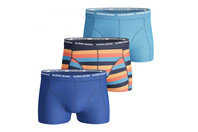 Basic Stripe 3 Pack Boxer Shorts