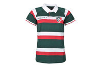 Leicester Tigers 2016/17 Home Ladies S/S Replica Rugby Shirt