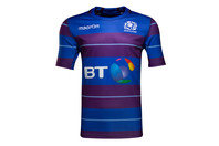 Macron Scotland 2016/17 Kids S/S Rugby Training Shirt