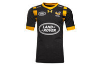 Under Armour Wasps 2016/17 Home S/S Players Rugby Test Shirt