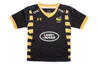 Under Armour Wasps 2016/17 Kids Home Replica Rugby Shirt