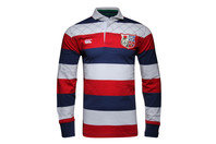 British & Irish Lions 1888 L/S Stripe Rugby Shirt