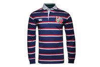Canterbury British & Irish Lions 1888 L/S Classic Stripe Rugby Shirt