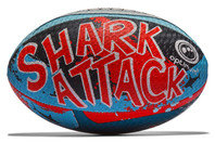 Shark Attack Rugby Training Ball