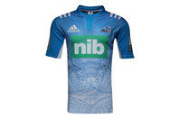 adidas Blues 2017 Alternate Super Rugby S/S Rugby Shirt