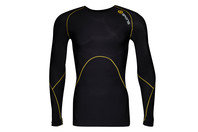 SKINS A400 Mens Logo Line Compression L/S Top
