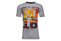 Rugby Division Rio Graphic Rugby T-Shirt