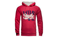 Vintage Graphic Hooded Rugby Sweat