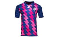 Asics Stade Francais Home 2016/17 Replica S/S Rugby Shirt