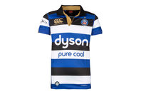 Canterbury Bath 2016/17 Home Kids S/S Pro Rugby Shirt