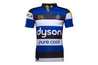 Canterbury Bath 2016/17 Home S/S Players Rugby Test Shirt