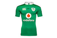 Canterbury Ireland IRFU 2016/17 Home Players Test Rugby Shirt