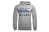 Canterbury Cardiff Blues 2016/17 Players Off Field Hooded Rugby Sweat