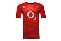 Canterbury England 2016/17 Players Poly Rugby Training T-Shirt
