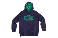 Canterbury Ireland IRFU 2016/17 Kids Hooded Rugby Sweat