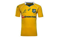 Asics Australia Wallabies 2016/17 Home Players Test Rugby Shirt