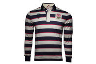 Canterbury England 1871 Limited Edition Striped L/S Rugby Shirt