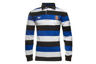 Bath 2016/17 Supporters Off Field Hooped L/S Rugby Shirt