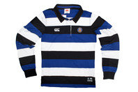 Canterbury Bath 2016/17 Ladies Supporters Off Field Hooped L/S Rugby Shirt