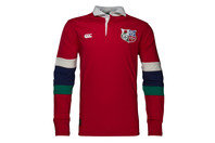 Canterbury British & Irish Lions 1888 L/S Stripe Rugby Shirt