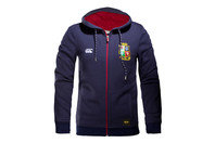 British & Irish Lions 2017 Ladies Full Zip Hooded Rugby Sweat