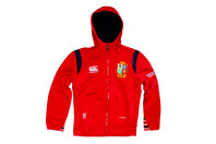 British & Irish Lions 2017 Kids Full Zip Fleece Hooded Rugby Sweat