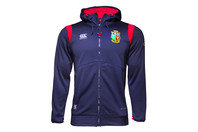 Canterbury British & Irish Lions 2017 Full Zip Fleece Hooded Rugby Sweat