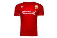 Canterbury British & Irish Lions 2017 Kids Superlight Logo Rugby T-Shirt