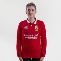Canterbury British & Irish Lions 2017 Ladies Match Day Classic L/S Rugby Shirt