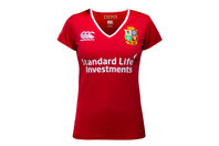 Canterbury British & Irish Lions 2017 Ladies Match Day Pro S/S Rugby Shirt