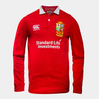 Canterbury British & Irish Lions 2017 Kids Match Day Classic L/S Rugby Shirt